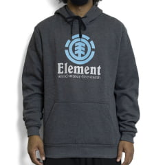 Moletom Element Fechado Moulitree Cinza