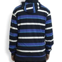 Moletom Oakley Striped Dupla Face Azul