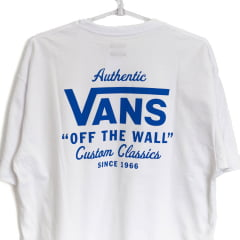 Camiseta Vans Holder ST Classic Branca