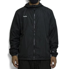 Jaqueta New Era Branded Windbreaker Preta