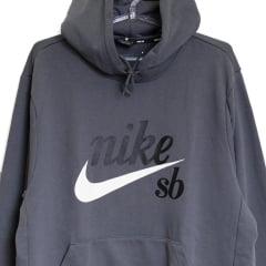 Moletom Nike Sb Skateboarding Cinza