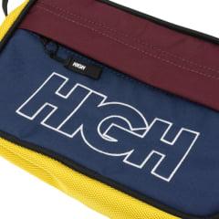 BOLSA HIGH SHOULDER BAG NAVY/YELLOW