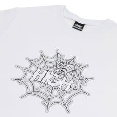 CAMISETA HIGH TEE SPIDER WHITE